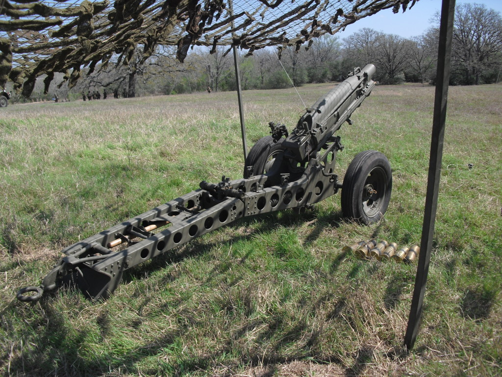 WWII 75mm Pack Howitzer