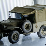 WWII Dodge WC 52 Truck, Cargo, 3/4 Ton, 4x4